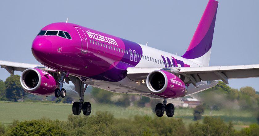 Compania Wizz Air nu va mai efectua zboruri pe ruta Cluj-Napoca - București