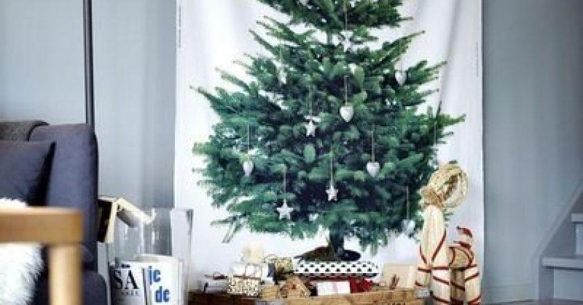 15 idei inedite pentru bradul de Crăciun, în cazul în care nu îţi doreşti unul clasic