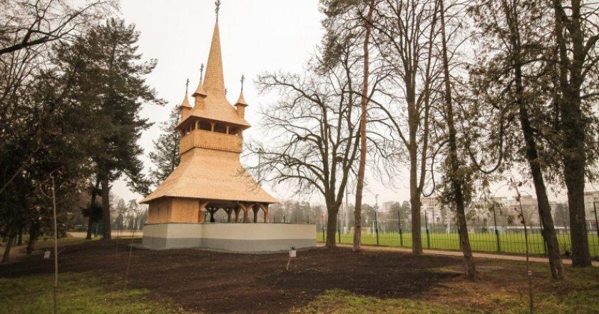 Altarul de vară din lemn din Cluj, ars din temelii acum 30 de ani, a fost inaugurat
