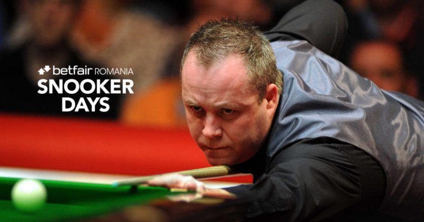 Campionii mondiali la snooker John Higgins şi Ken Doherty vin în martie la Cluj