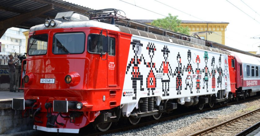CFR marcheaza Unirea Principatelor Romane prin introducerea Trenului Unirii