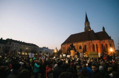 protest cluj gratiere aministie cod penal