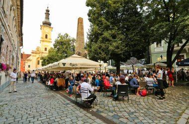 mai multi turisti decat locuitori in cluj