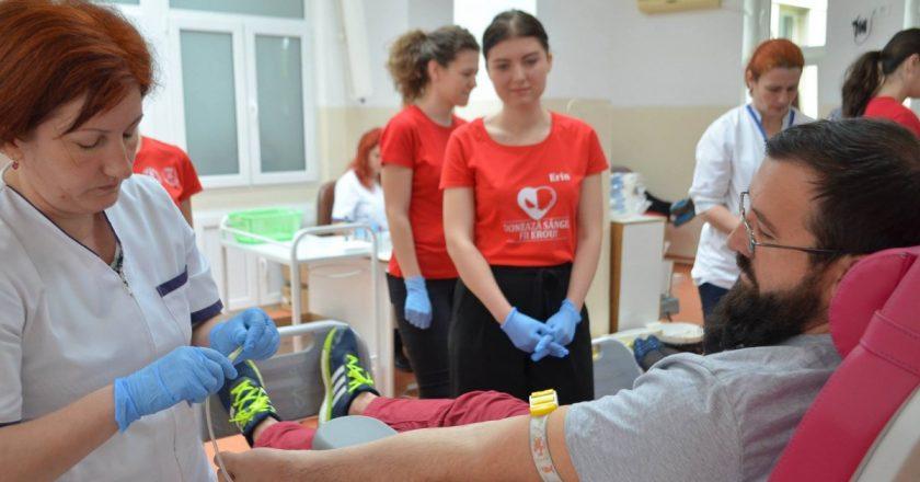 Donează sânge! Fii erou!