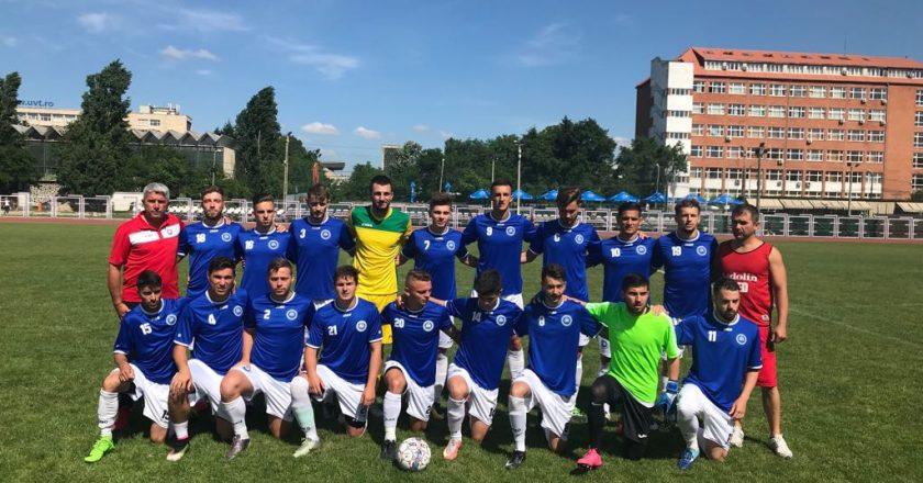 UBB Cluj este noua campioană a României la fotbal universitar