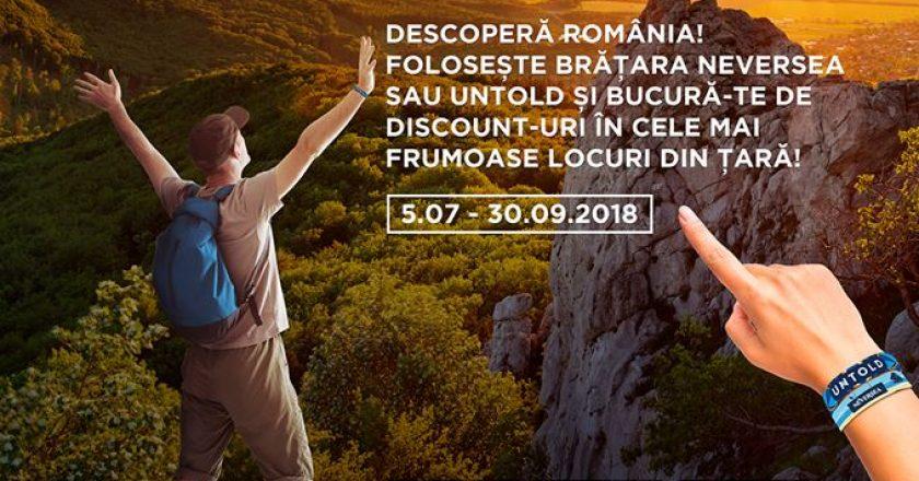 "UNTOLD devine primul Brand Ambasador al turismului românesc prin campania ""România All Inclusive"""