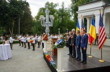 Pentru prima dată în 100 de ani, Ziua Statelor Unite ale Americii a fost sărbătorită la Cluj-Napoca şi nu în Bucureşti