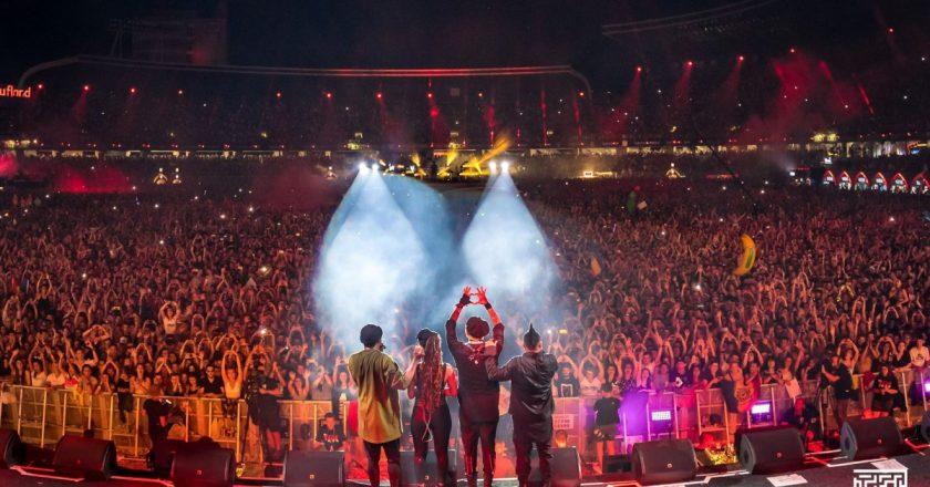 """Black Eyed Peas la UNTOLD: """"Peste tot unde vom merge în lume, vom povesti despre festivalul UNTOLD și despre România"""""""