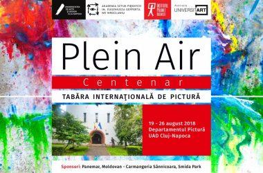Premiera verii la UAD Cluj-Napoca: tabăra internaţională de pictură