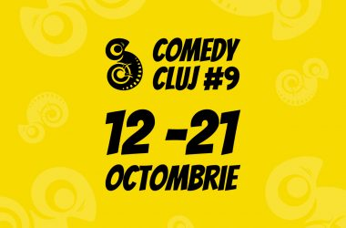 Stand-up, teatru, filme de comedie și multe surprize la cea de-a noua ediție Comedy Cluj