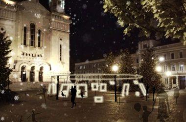 Cum va arăta Piaţa Avram Iancu din Cluj în această iarnă
