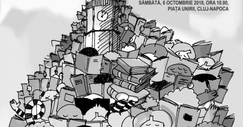 Marea Lectură | 10.000 de oameni din Cluj vor citi simultan pentru a intra în Cartea Recordurilor