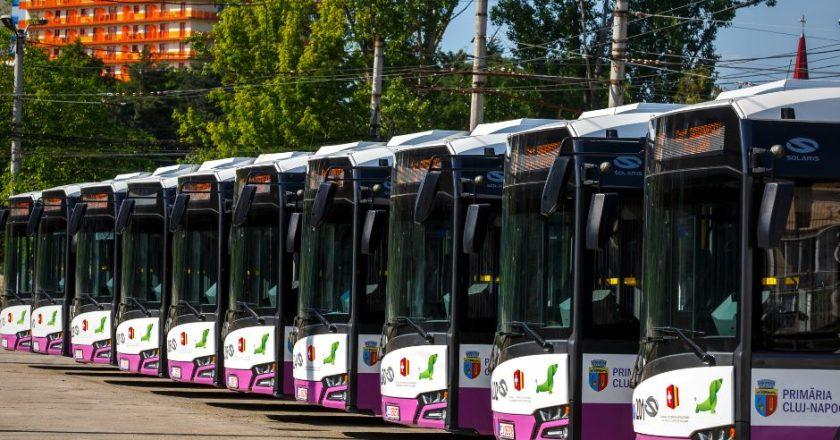50 de troleibuze noi la Cluj | Primăria Cluj-Napoca le va cumpăra pe bani europeni