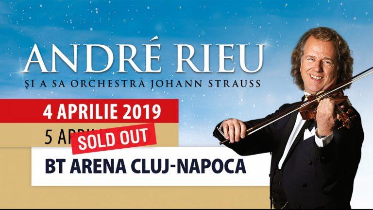 André Rieu susţine încă un concert la Cluj! Cele 7500 de bilete pentru primul concert s-au epuizat în doar trei ore