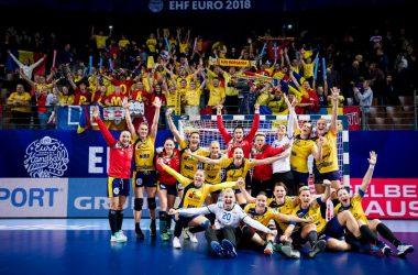 EURO 2018: România a învins campioana europeană Norvegia cu 31-23