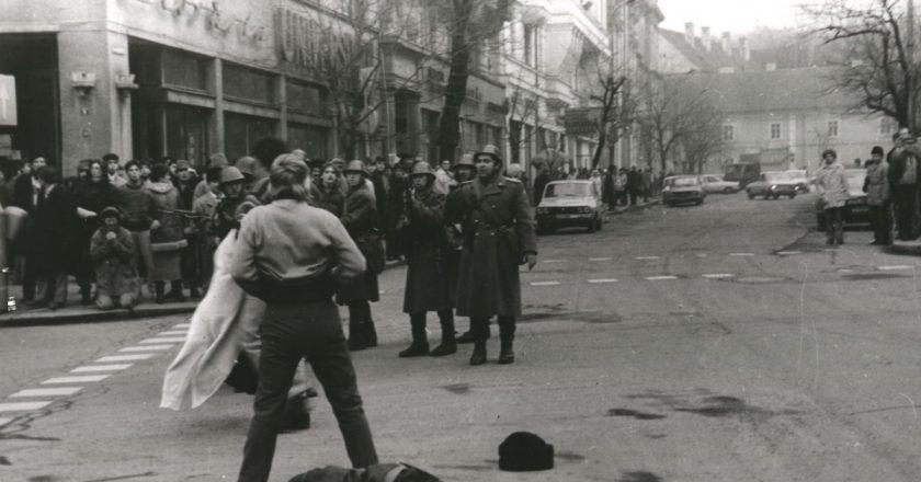 Revoluţia din Decembrie 1989 din Cluj-Napoca | Filmul evenimentelor
