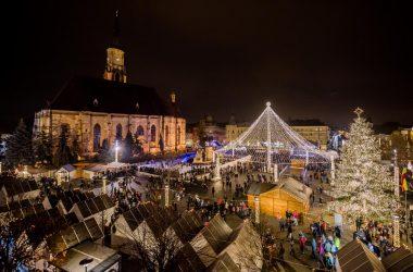 Târgul de Crăciun Cluj-Napoca s-a clasat pe locul 10 în topul celor mai frumoase astfel de târguri din Europa