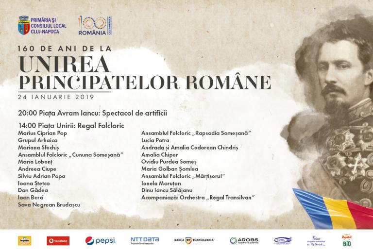 160 de ani de la Unirea Principatelor Române Programul evenimentelor de la Cluj