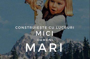 """Eveniment caritabil la Cluj organizat de trei studente: """"Construiește cu lucruri mici, oameni mari!"""""""