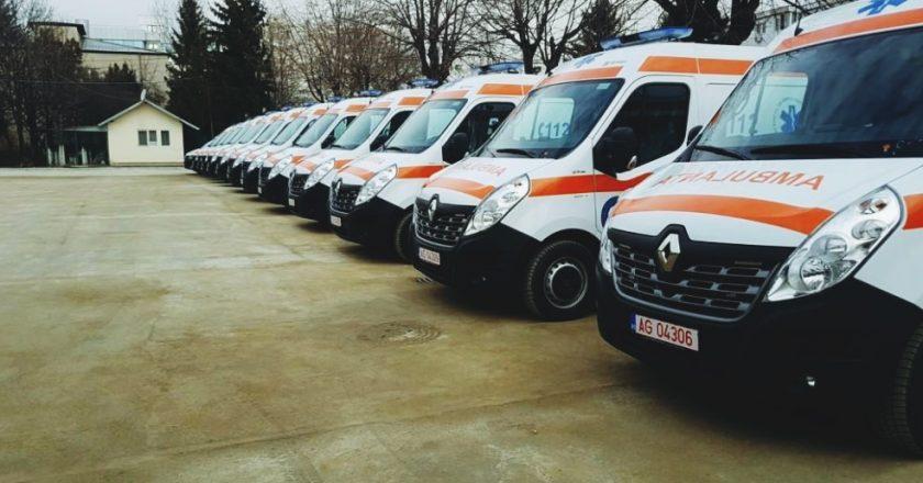 34 de ambulanţe noi vor fi repartizate judeţului Cluj în 2019