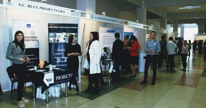 Zilele Carierei la Universitatea Tehnică din Cluj: întâlniri intre studenţi şi angajatori