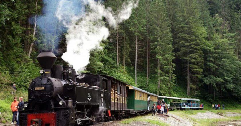 Excursiile cu Mocănița atrag tot mai mulți turiști străini în Transilvania