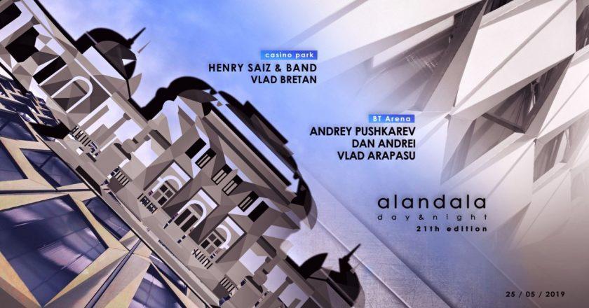 Alandala day&night - petrecere la Cluj la începutul verii