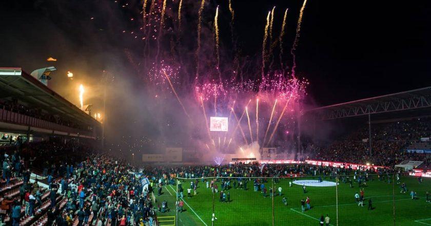 CFR Cluj a devenit campioana României pentru al doilea an consecutiv