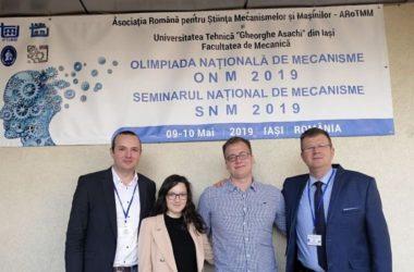 Un student al Universităţii Tehnice din Cluj a câştigat premiul I la Olimpiada Națională de Mecanisme