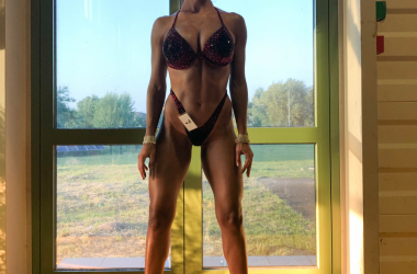 vaidahazan alexandra din Cluj a devenit campioană mondială la Fitness Model Tall Class