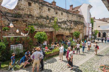 Strada Potaissa - transformată în cea mai frumoasă stradă din Cluj în cadrul unui eveniment inedit