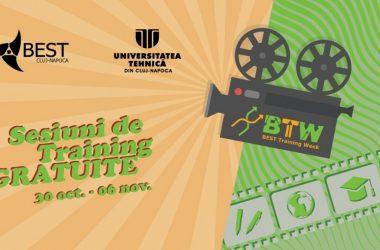 BEST Training Week: training-uri și workshop-uri gratuite pentru studenţii din Cluj