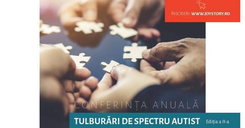 """Conferinţa """"Tulburări de spectru autist"""" va avea loc în noiembrie la Cluj-Napoca"""