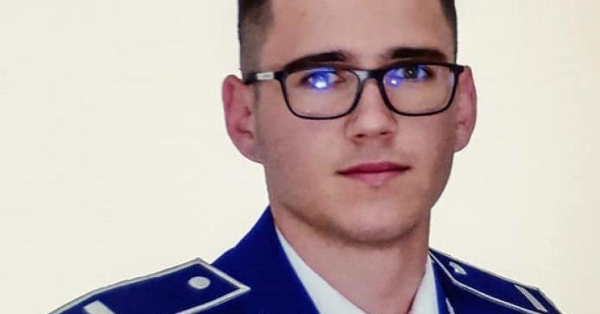 Povestea unui tânăr absolvent al Şcolii de Poliţie din Cluj