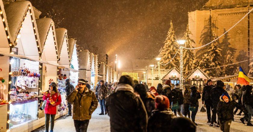 Târgul de Crăciun din Cluj - printre cele mai frumoase din Europa