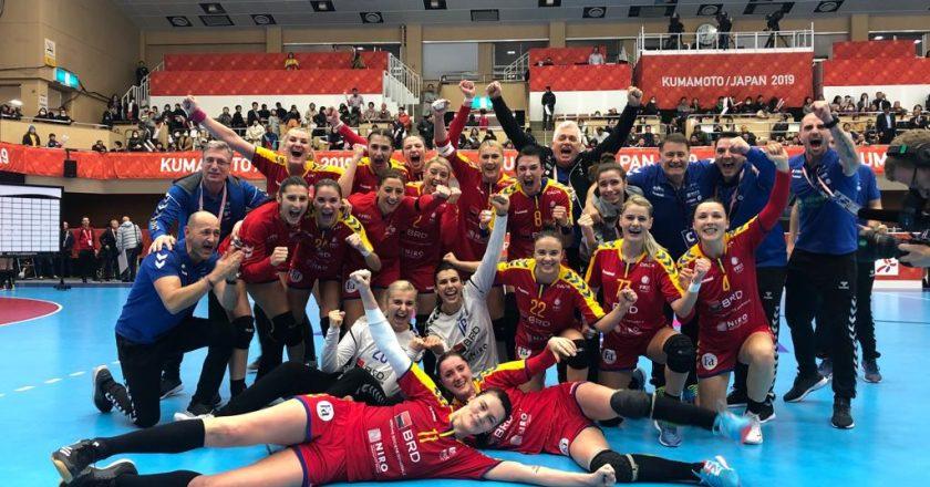 România s-a calificat în grupele principale ale Mondialului de handbal după ce a învins Ungaria