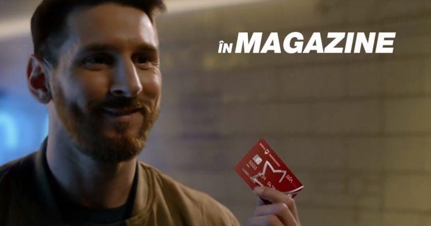 Lionel Messi şi-a făcut card de cumpărături de la Banca Transilvania
