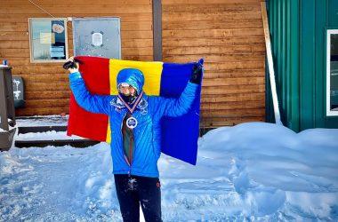 Tibi Ușeriu al doilea clasat la ultramaratonul de la Yukon Arctic