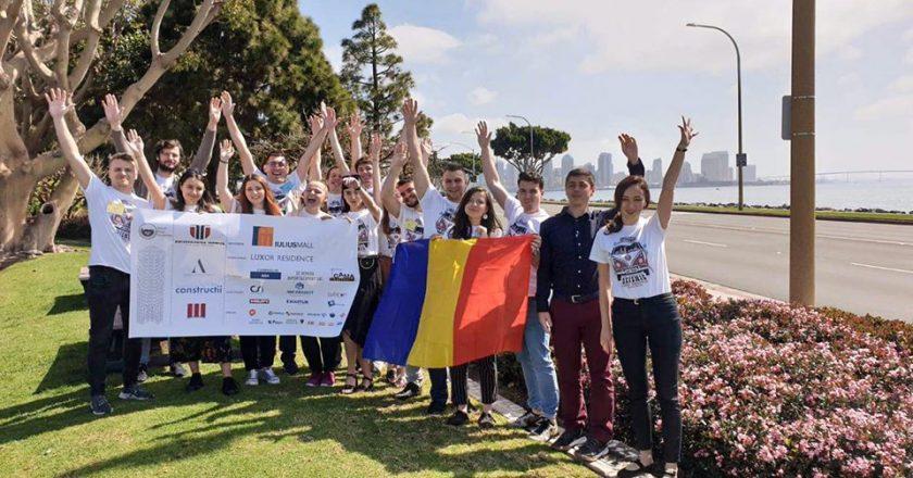 Studenții Universității Tehnice din Cluj-Napoca s-au clasat pe locul I în cadrul Concursului de Design Seismic din San Diego