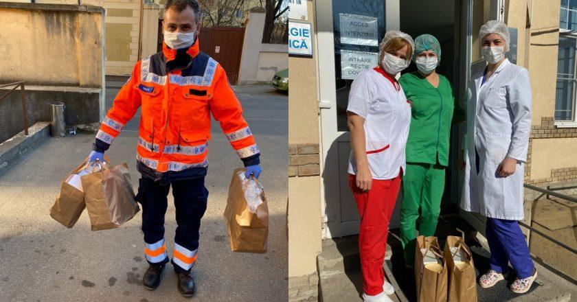 """""""Masă pentru medici"""" - un proiect inițiat de JCI Cluj și susținut de comunitate"""