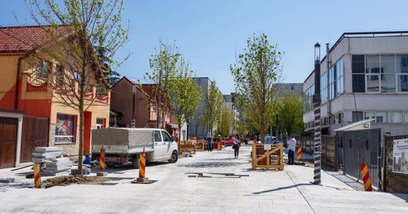 Cluj-Napoca: Lucrările la prima stradă SMART din România se apropie de final