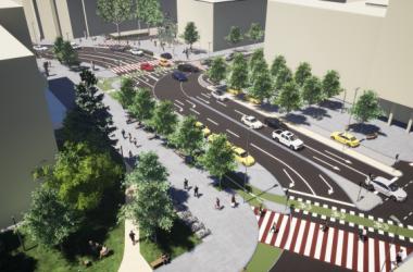 Cum va arăta după modernizare Piaţa Lucian Blaga din Cluj-Napoca