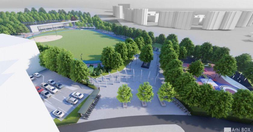 """Au început lucrările la Baza Sportivă """"La Terenuri"""" din cartierul Mănăștur"""