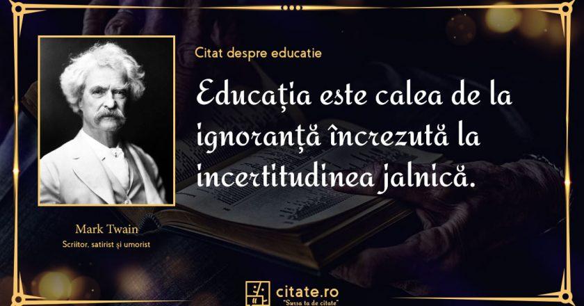 Citate despre educatie pentru copii