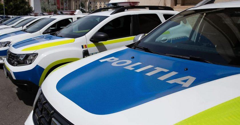 Poliția Română cumpără 6700 de mașini noi de la Dacia