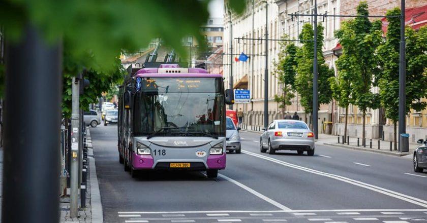 Linii noi de troleibuze înCluj-Napoca