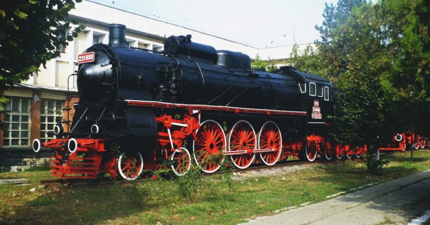 muzeul locomotivelor dej