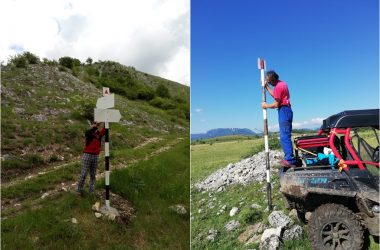 Noi trasee turistice refăcute în zona Cheile Turzii – Munții Trascăului