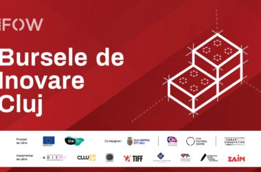 Burse de Inovare în valoare de până la 9000 de euro prin proiectul Cluj Future of Work