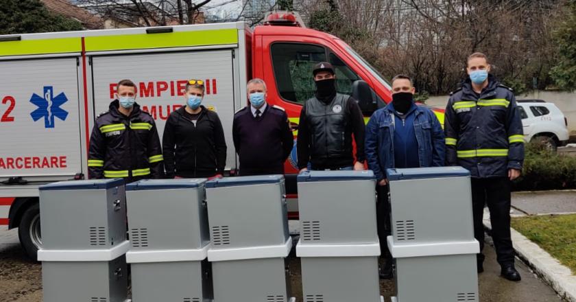Beard Brothers a donat pentru ISU Cluj 10 frigidere mobile pentru transportul vaccinului anti-COVID